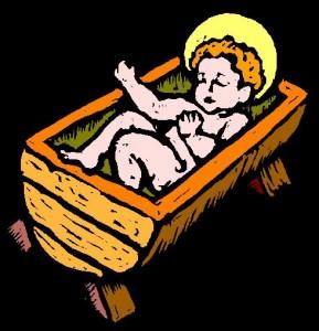 Baby Jesus in the Manger 2
