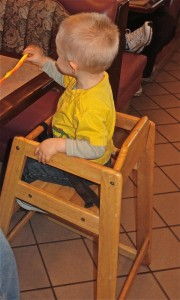 Restaurant High Chair