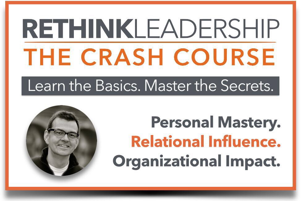 Rethink Leadership Crash Course Image