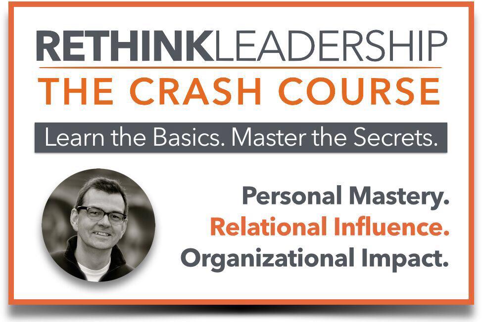 Rethink Leadership Crash Course Image