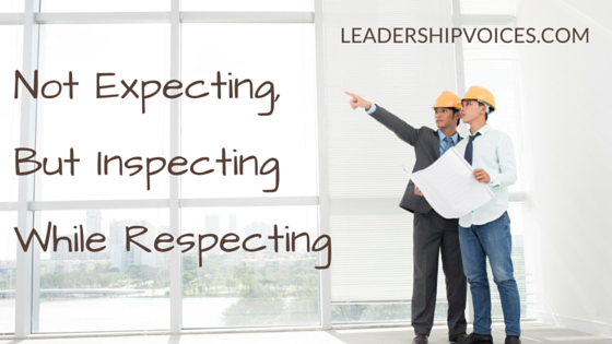 Expect-Inspect-Respect