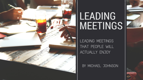 Leading Meetings