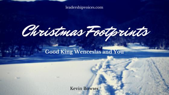 Christmas Footprints