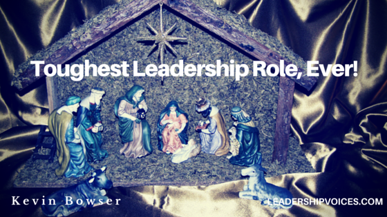 Toughest Leadership Role, Ever!