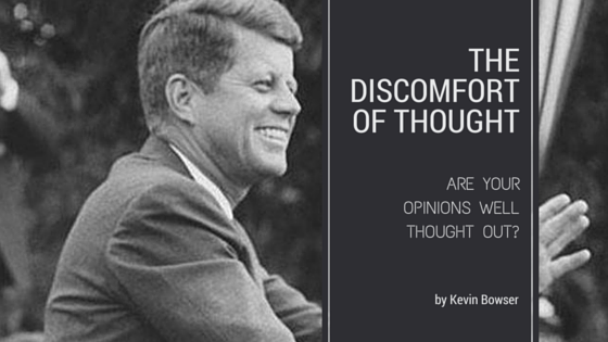 Discomfort of Thought