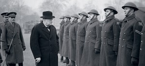 Winston Churchill and the Troops