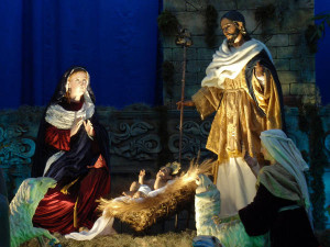 Leading Them to the Manger - 1