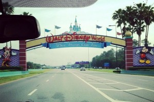 Entrance to WDW