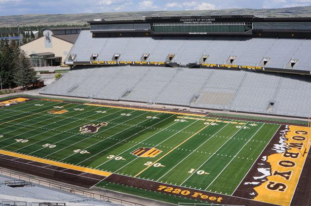University of Wyoming Stadium