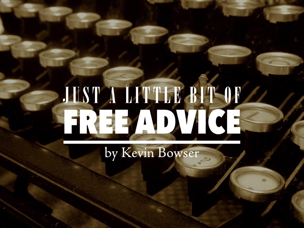 Free Advice - Blog
