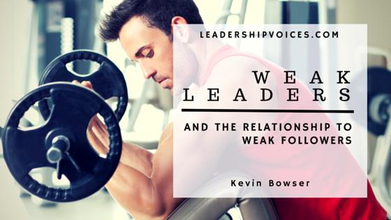 Weak Leaders
