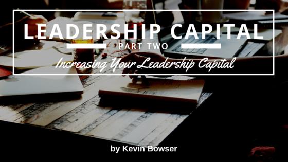 Leadership Capital - Part 2