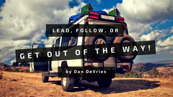 Lead, Follow