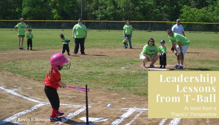 Leadership Lessons from T-Ball