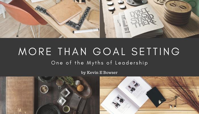 More Than Goal Setting