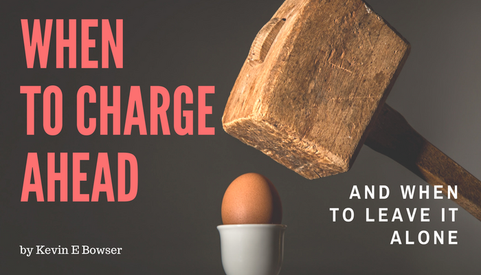 When to Charge Ahead